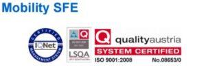 Mobility Solution Certificado de Calidad